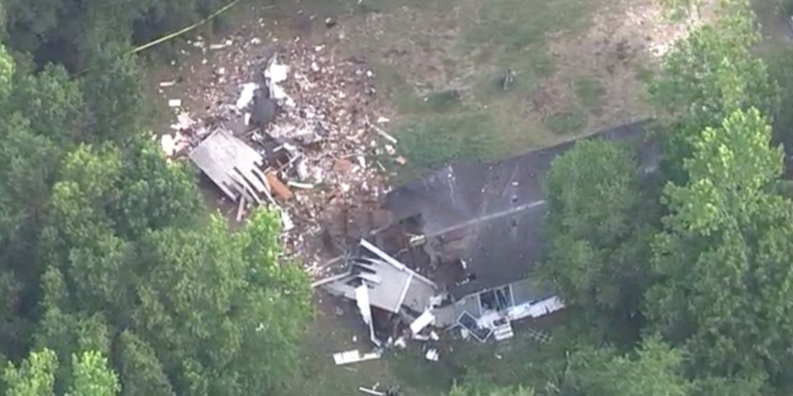 2 dead, one injured after a small plane crashed into a North Carolina home