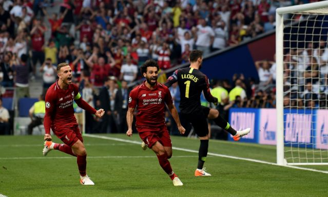 Liverpool tops English rival Tottenham to win Champions league title