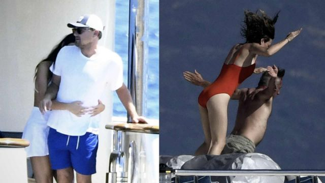 Leonardo DiCaprio & Sean Penn Pack on PDA With Much Younger Girlfriends