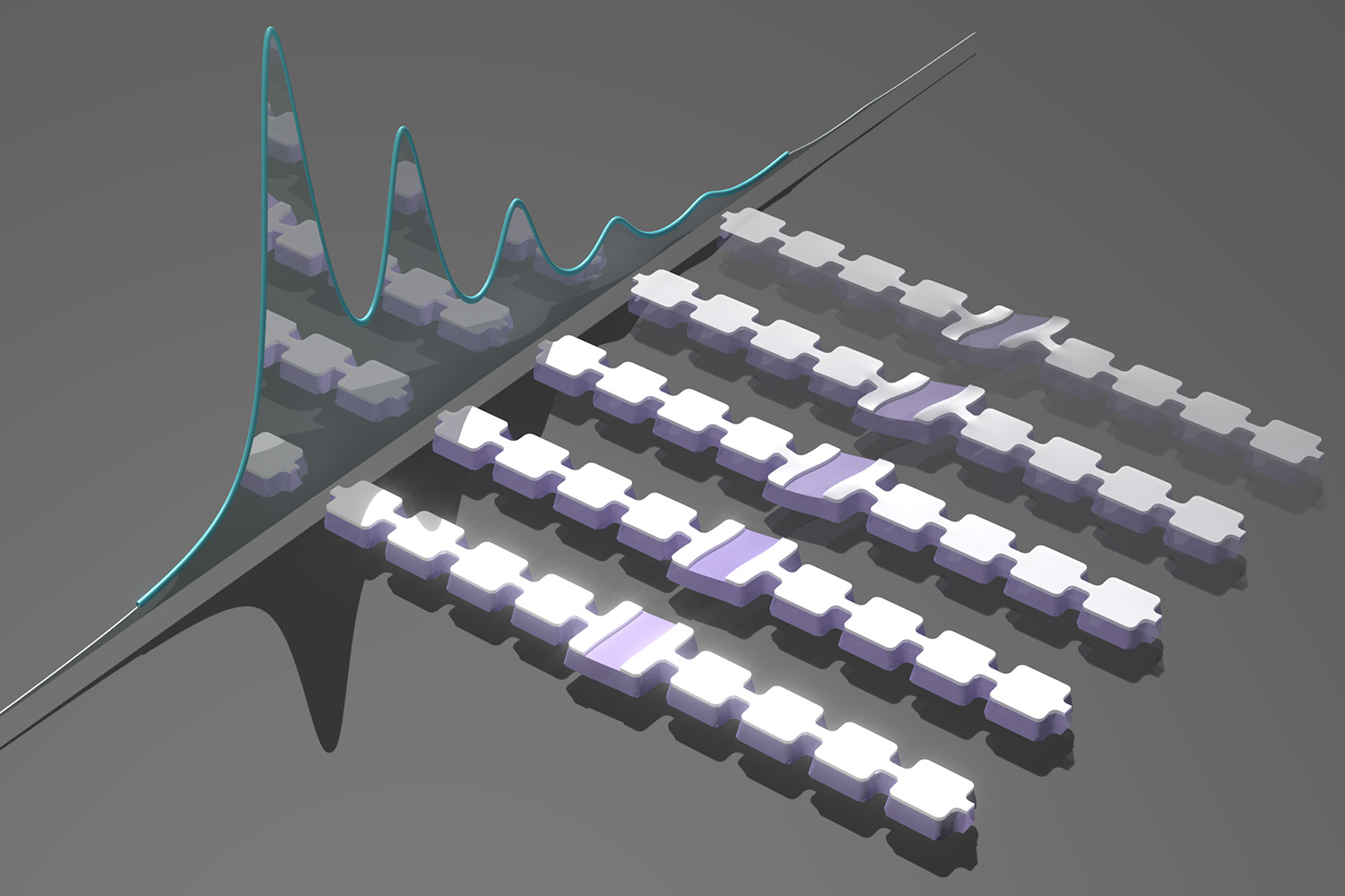 Stanford physicists count sound particles with quantum microphone A device that eavesdrops on the quantum whispers of atoms could form the basis of a new type of quantum computer.