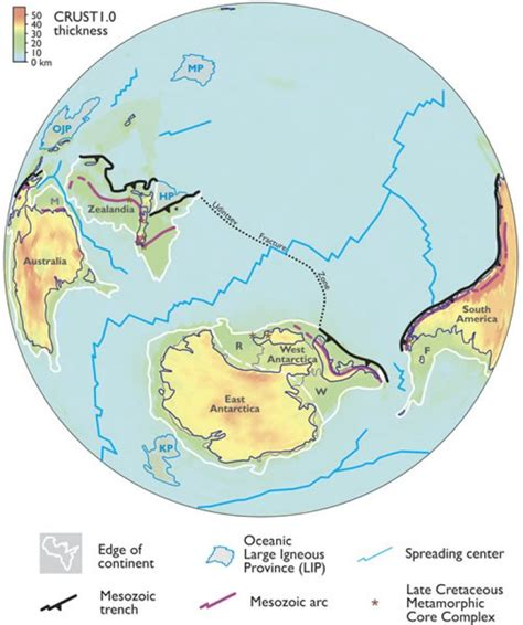 New model suggests lost continents for early Earth