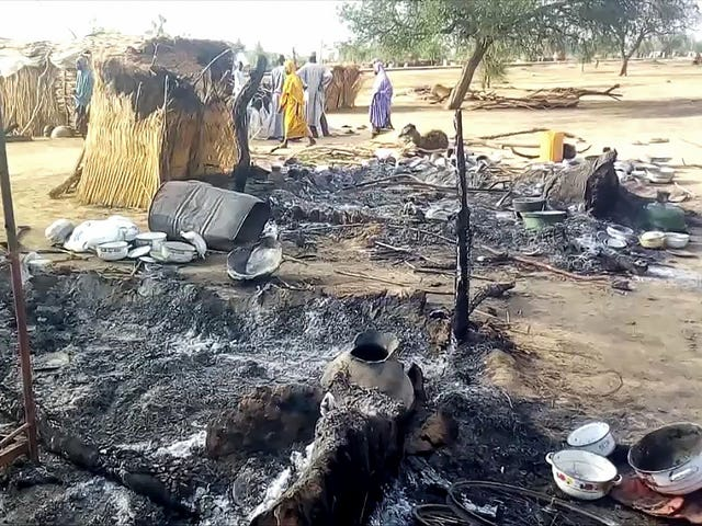Extremist attack kills more than 60 people in Nigeria, Boko Haram suspected