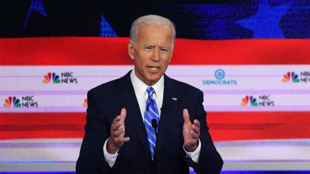 Joe Biden Attacked at the Democratic Debate for Being Old