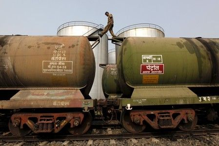 A surge in India's oil imports from the United States outpaced growth in shipments from its traditional suppliers in the Middle East, after Washington imposed sanctions on Tehran in November, according to tanker arrival data obtained from sources.