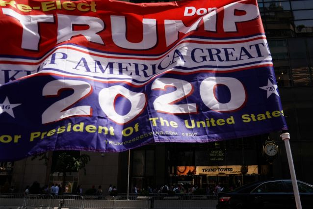 Vendors selling Trump, Confederate flags at community market spark outrage