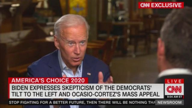 Biden Brushes Off Alexandria Ocasio-Cortez as Too Far Left Mainstream Democrats Won in the Midterms