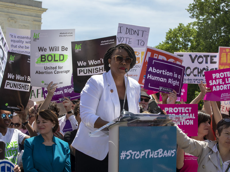 Across The Country, Protesters Rally To Stop States' Abortion Bans