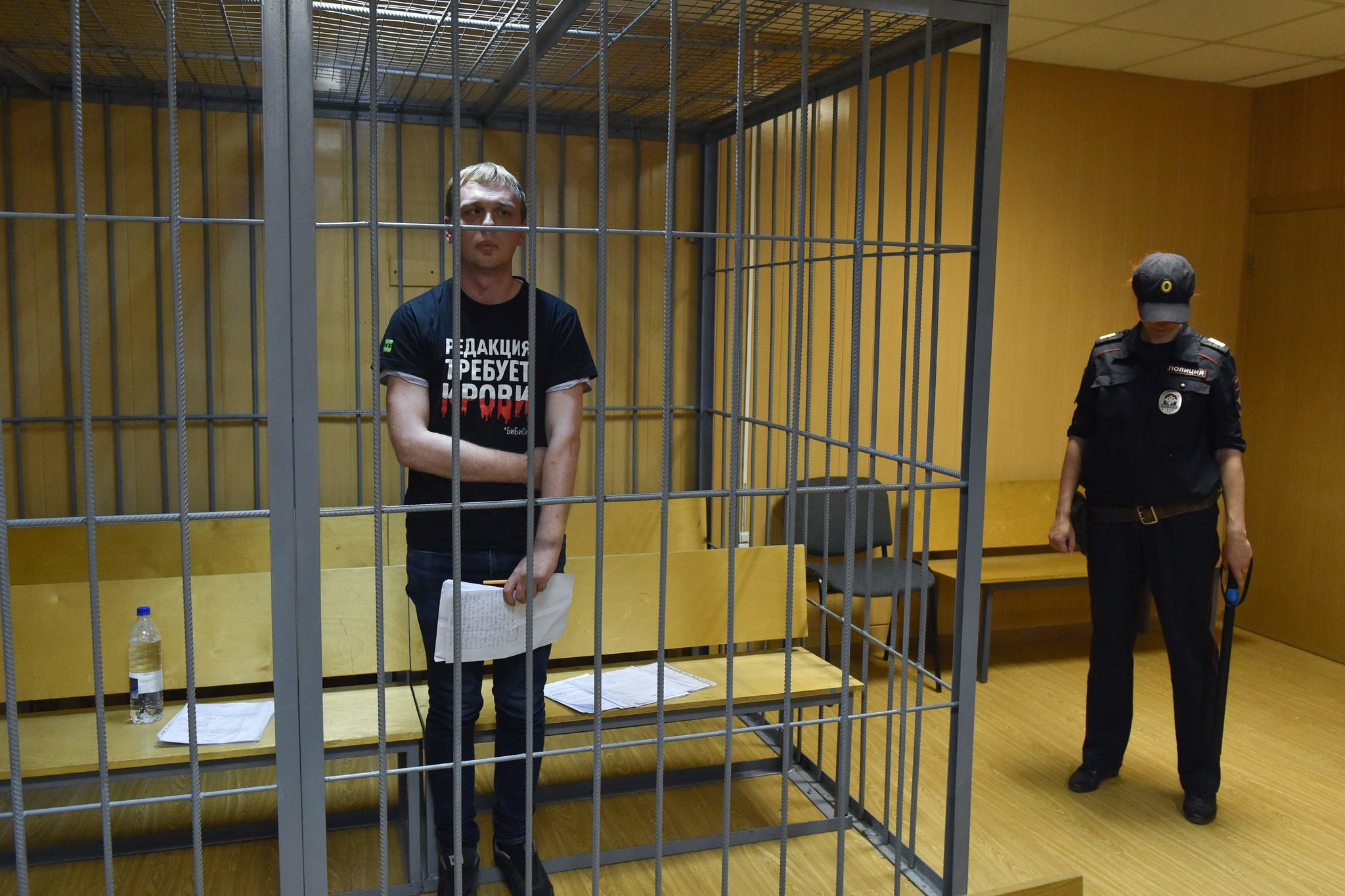 Reporter Arrest Sets Off Widespread Protests in Russia