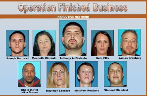 Mother, son among 32 charged in major Bayshore heroin ring bust in N.J.