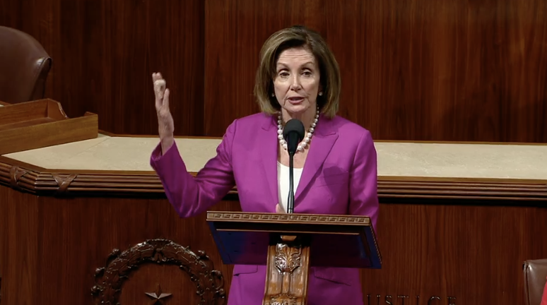 "Pelosi says Trumps comments about congressional members are ""not only divisive but dangerous"""