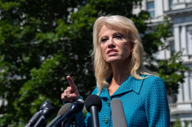 Kellyanne Conway challenges reporter who questioned Trump's tweet Whats your ethnicity