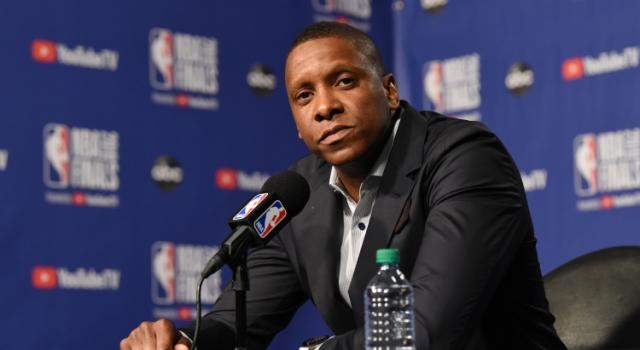 Raptors president Masai Ujiri involved in altercation with police moments after Toronto clinches title