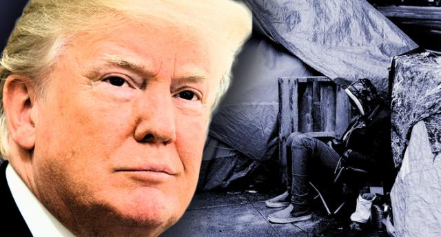 Trump on blight of homelessness in U.S. cities It's disgraceful'