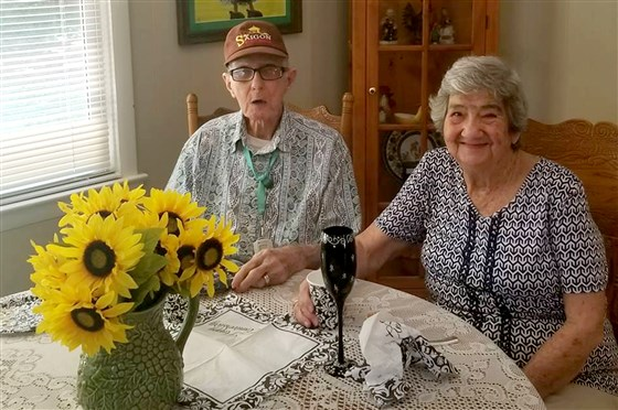 Georgia couple married for 71 years die exactly 12 hours apart Herbert and Marilyn DeLaigle were famous in their town for always holding hands