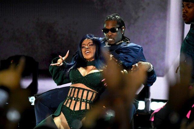 Cardi B Gives Husband Offset a Lap Dance During Sexy 2019 BET Awards Performance