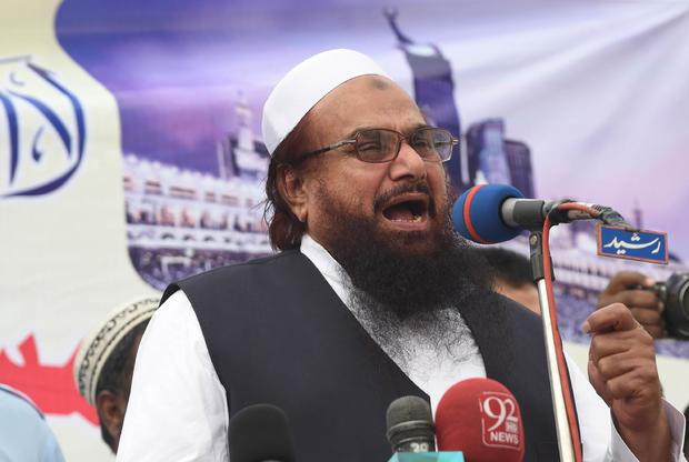 Pakistan re-arrests terror group founder Hafiz Saeed before Prime Minister Imran Khan's meeting with Trump