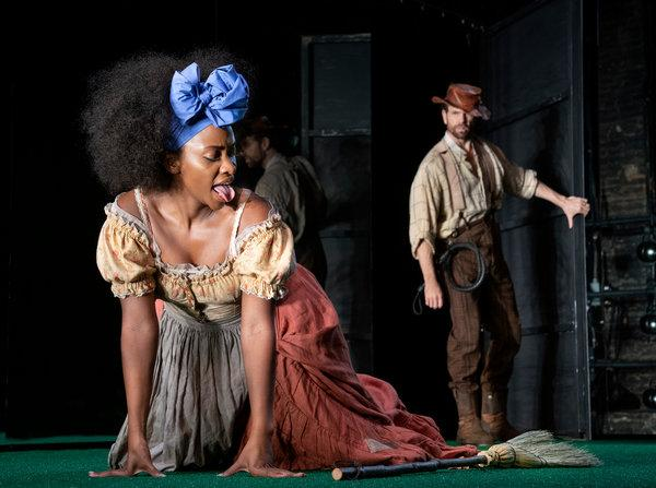 Slave Play' On Broadway Has Slave TWERKING For Master!! (PICS)