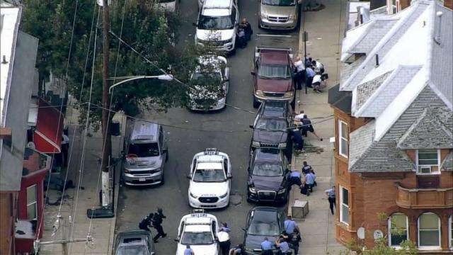 Several officers injured by suspect firing in ongoing shooting in Philadelphia