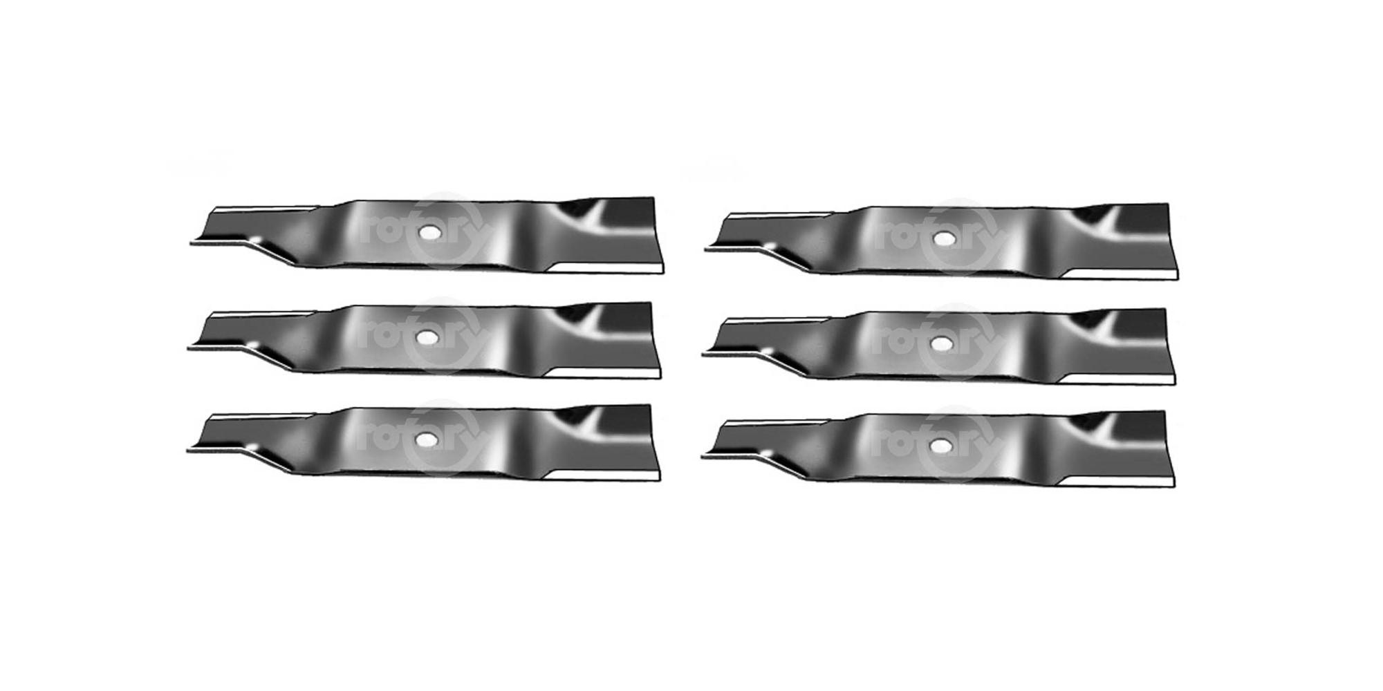 6 Pack Blades Fits Cub Cadet MTD 02005017 1005336 742-04417 942-04417 942-04417A
