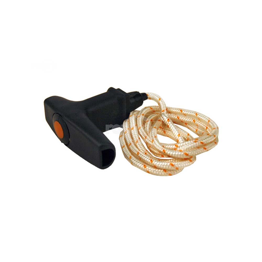 Elastostart Starter Handle And Pull Cord Rope Fits Stihl FS120 FS200 FS250 FS300
