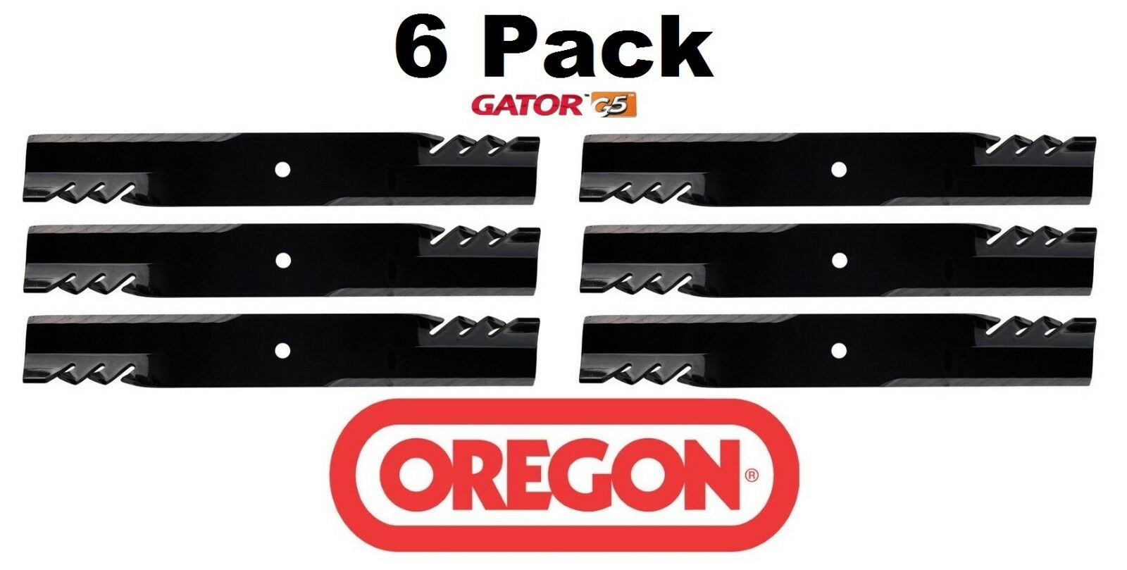 """Oregon 391-608 Gator G6 Mulching Blades Ferris IS500Z IS600Z w// 44/"""" Mower 3-PACK"""