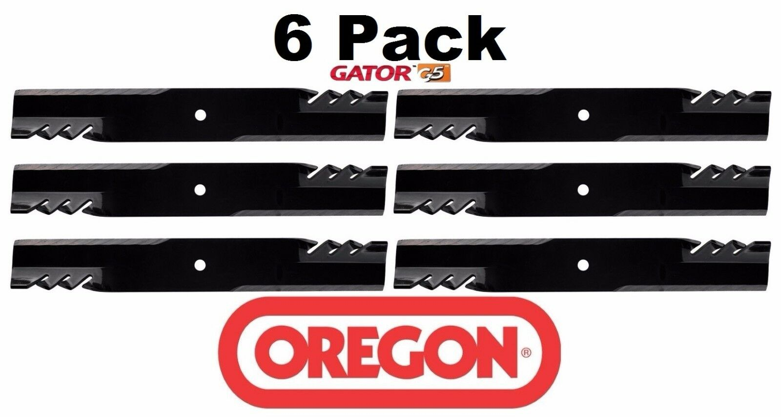 3 Pack Oregon 596-704 Mower Blade Gator G5 Fits Hustler 603848 603848X 603848Y