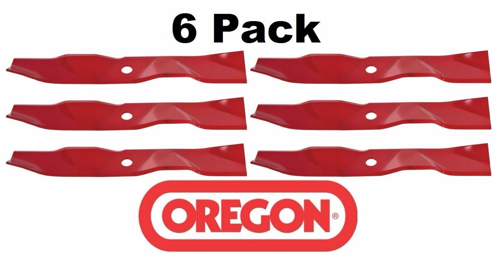 "Oem Oregon 92-209 20-1//2/"" Notched Mower Blades 103-6383 Exmark Lazer 60/"" 6-PACK"