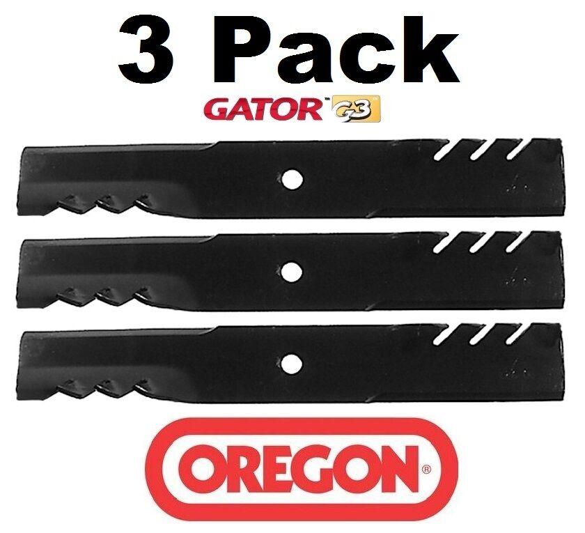 """6 Oregon Gator G5 Blades 596-344 for Ferris 36/"""" /& 52/"""" 1521227 21227 481711"""