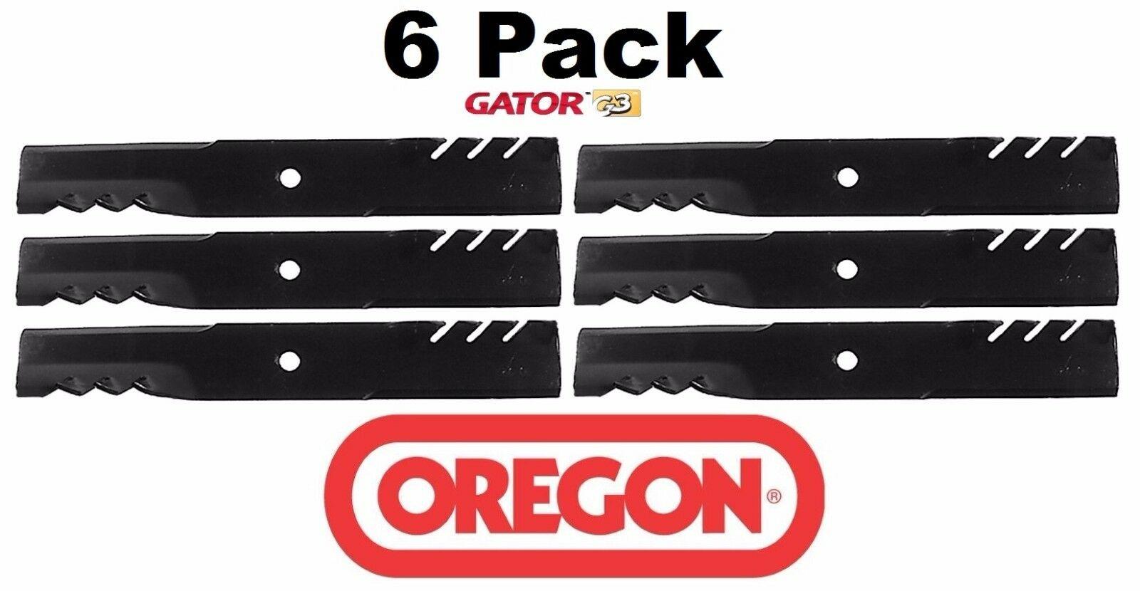 "3 Pack Oregon 396-769 G6 Gator Mulch Blade fits John Deere M144652 M164016 54/"" Z"