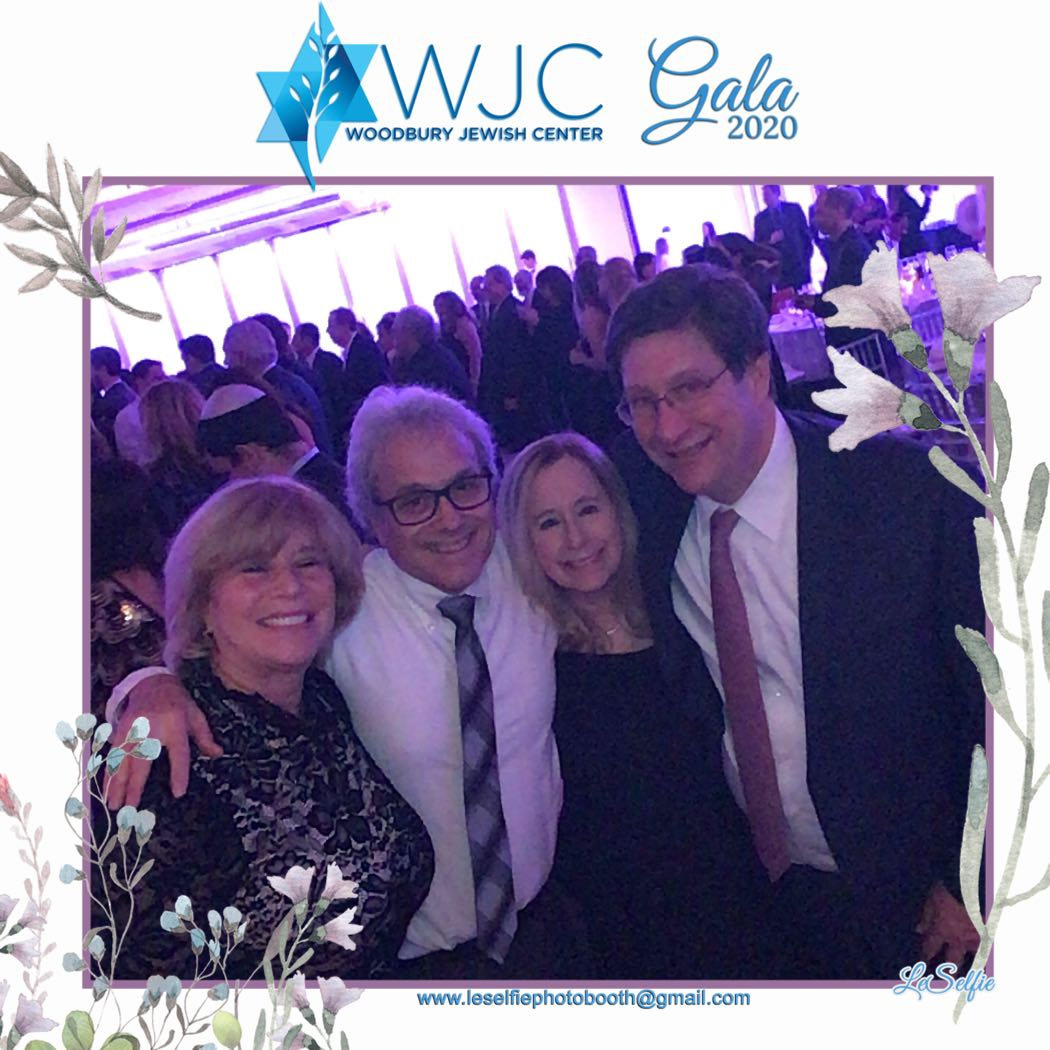 Having a great time at Woodbury Jewish Center Gala 2020