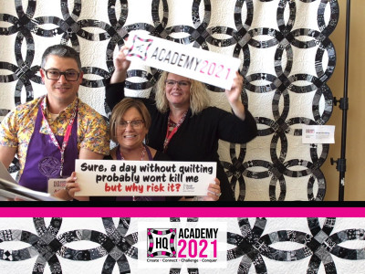 Photo from Handi Quilter Academy 2021