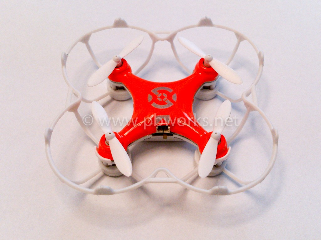 Cheerson CX-10 orange, with protecting cover