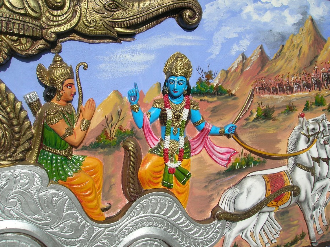 10 Everyday Life Lessons From The Bhagavad Gita