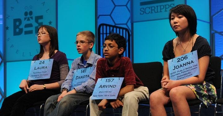 Why do Indian American Kids Win Spelling Bee Contests?