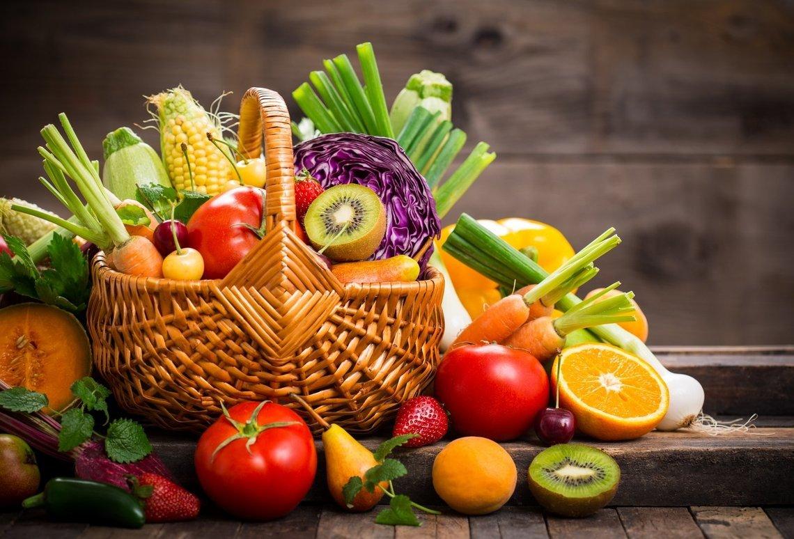 """Good food helps heal the body"""