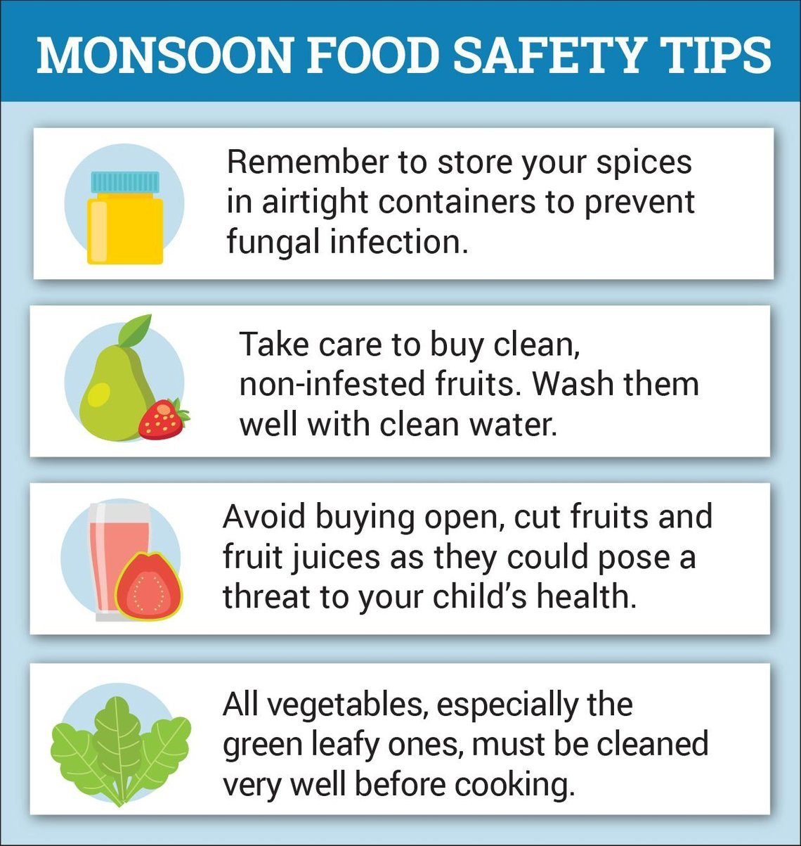 Healthy Monsoon Foods for Your Toddler