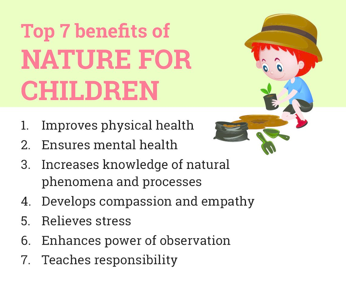 Benefits of a Nature Walk With Your Child