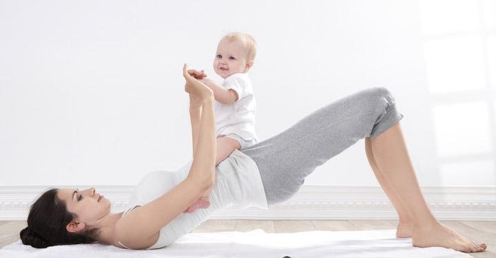 6 Get-Back-in-Shape Moves For New Moms