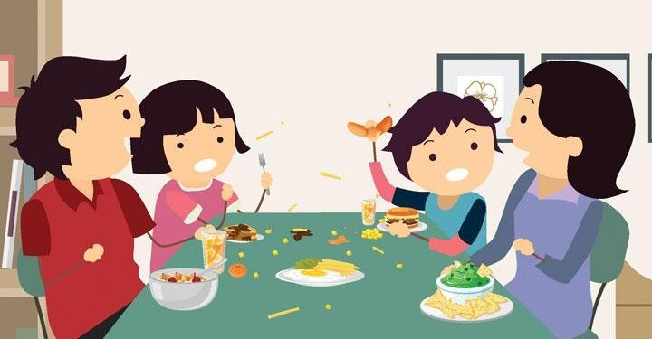 7 Mealtime Manners for Children