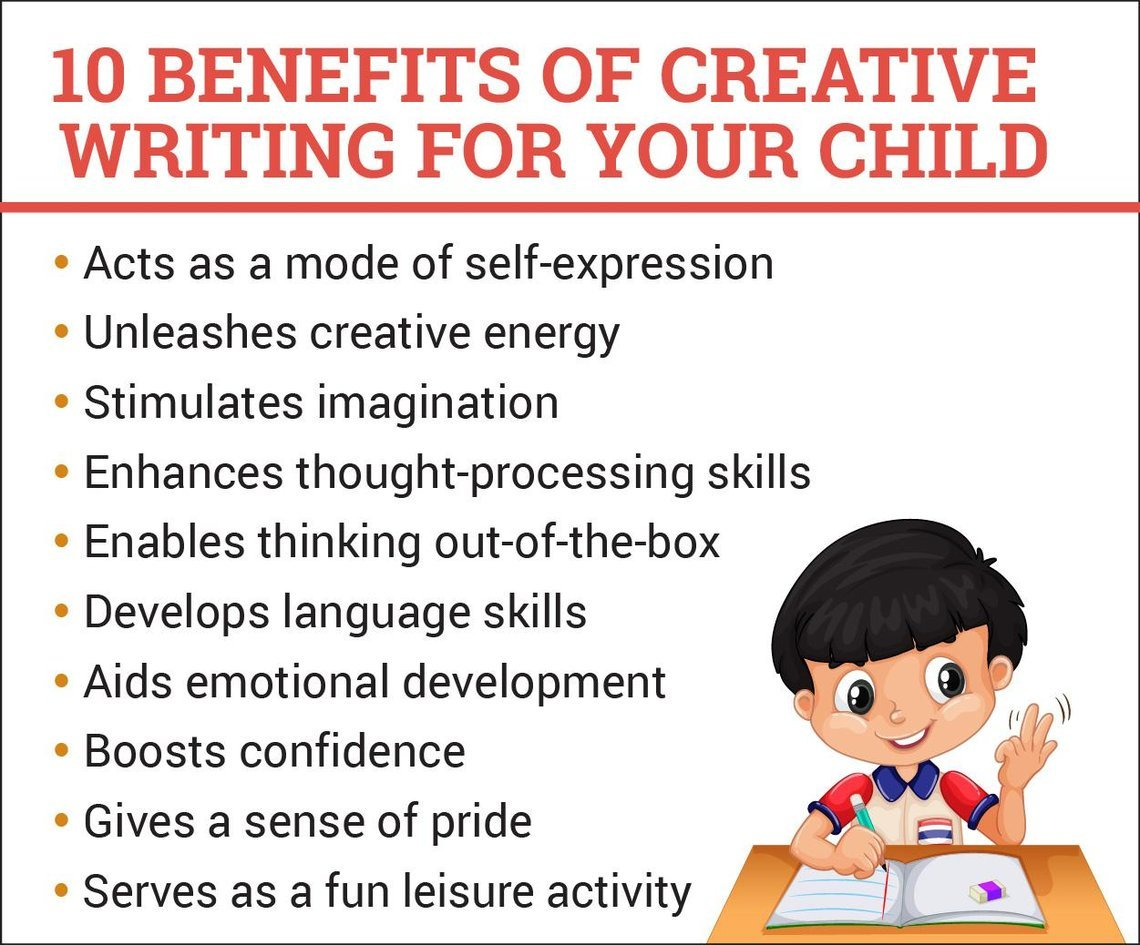 10 creative writing activities for your child