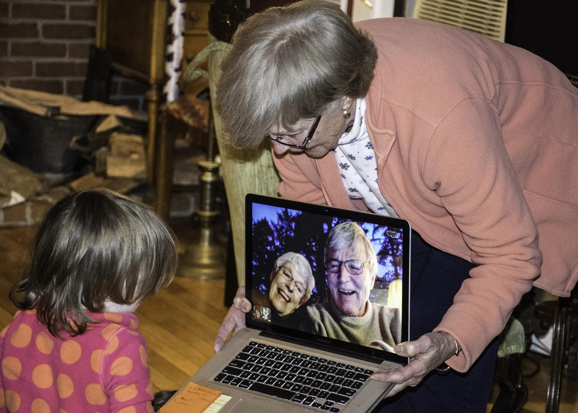 Long-Distance Grandparenting: Tips For Interactive Video Chat Sessions With Grandchildren