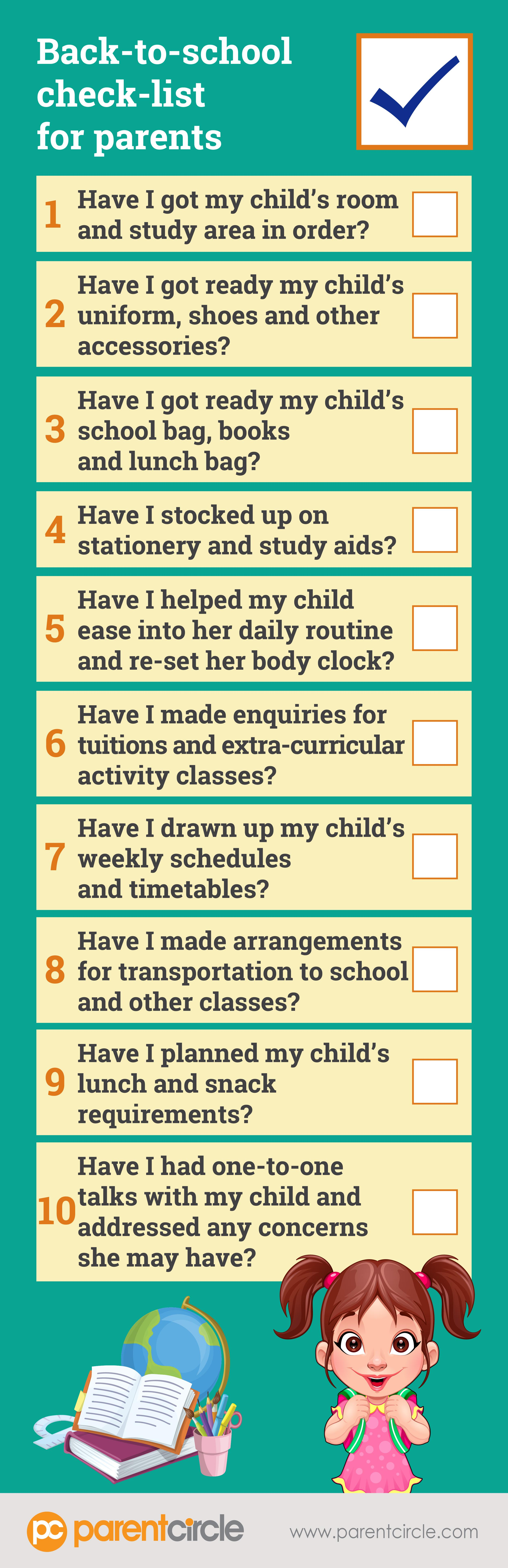 Six Ways To Engage Your Child In 'Back-To-School' Preparation