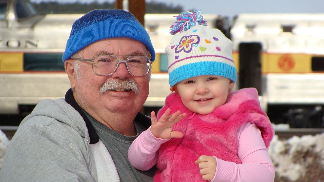 Five tips for grandparents of a three-year-old