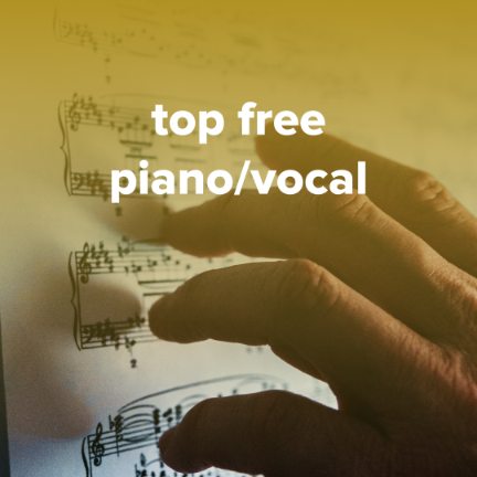 Sheet Music, Chords, & Multitracks for Top Free Piano/Vocal Sheets for Worship