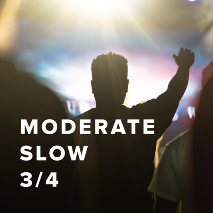 Moderate Slow Worship Songs in 3/4