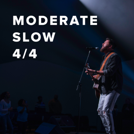 Moderate Slow Worship Songs in 4/4