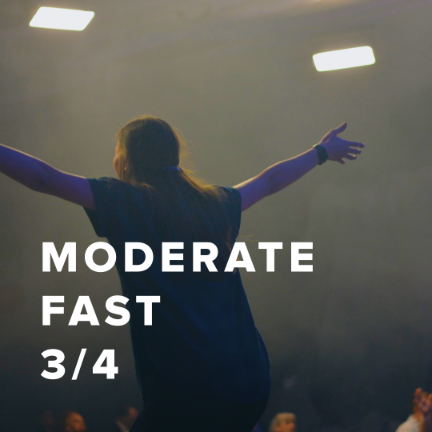 Moderate Fast Worship Songs in 3/4