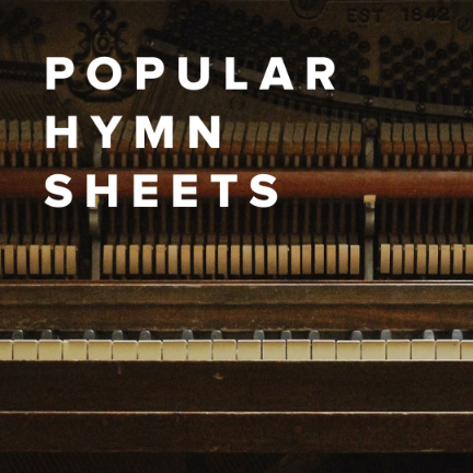 Sheet Music, Chords, & Multitracks for Popular Hymn Sheets