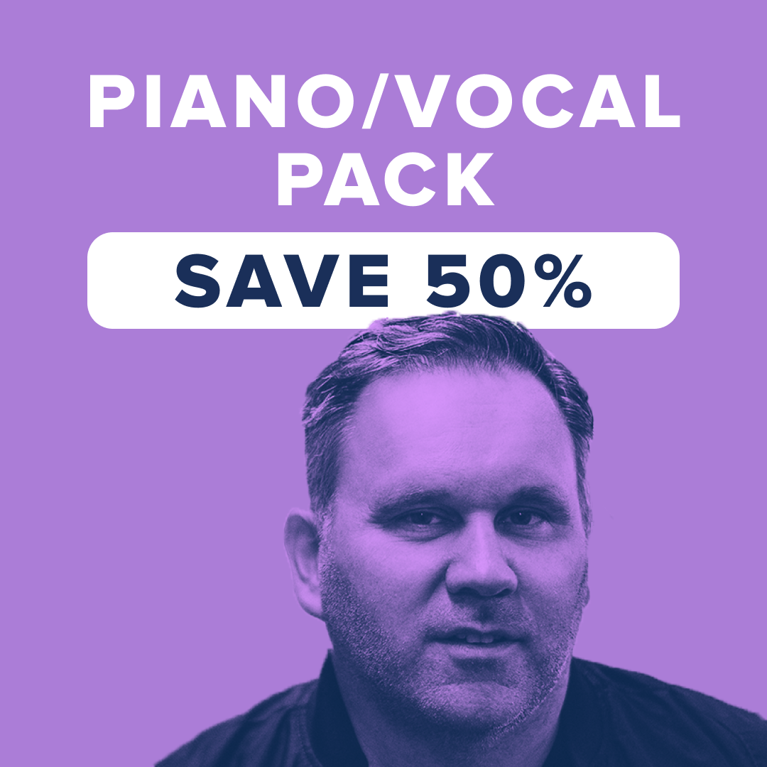 Sheet Music, Chords, & Multitracks for Save More Than 50% With The Piano/Vocal Pack