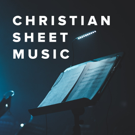 Sheet Music, Chords, & Multitracks for New Christian Sheet Music